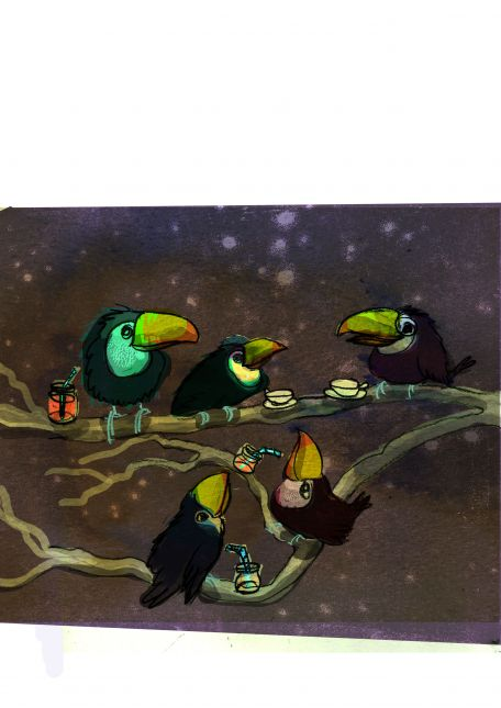 Toucan chatter