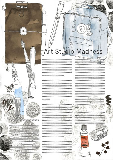 Art Studio Madness - in color