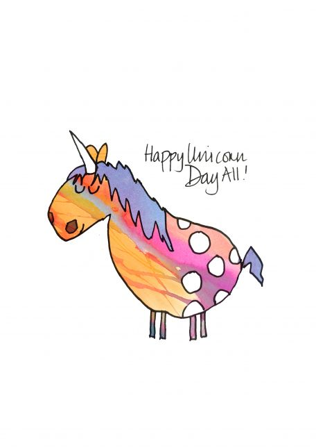 Happy Unicorn Day for yesterday!