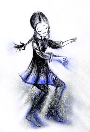 Wednesday is dancing