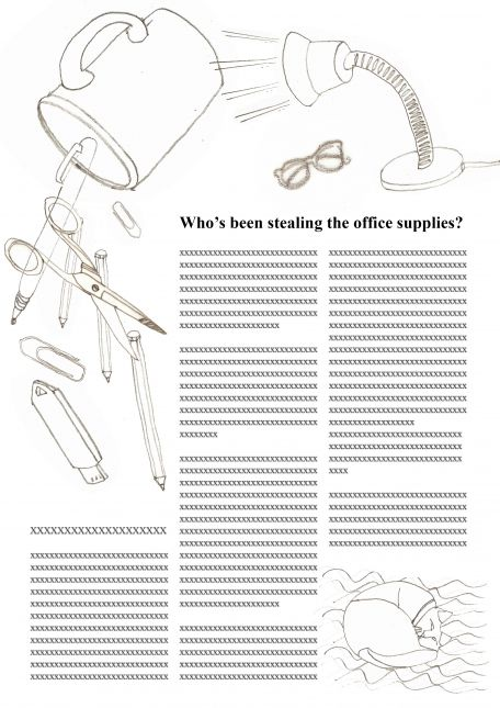 Office Madness - 'Who's been stealing the office supplies?'